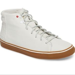 Mens UGG Hoyt White High Top Sneakers Shoes SZ 13